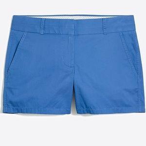 "J. Crew 3"" Chino Shorts Blue"